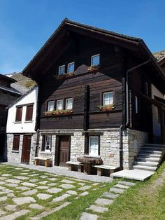 Casa Walser a Riale in Val Formazza (Val d'Ossola) - Piemonte