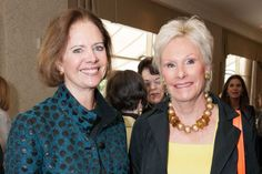 Kaki deSautels and Carolyn Hansen at the Junior League of San Francisco's WATCH Luncheon on May 4, 2014.