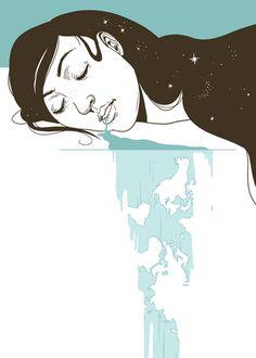 Great Slumber by Julia Sonmi  ... so me!! *_*