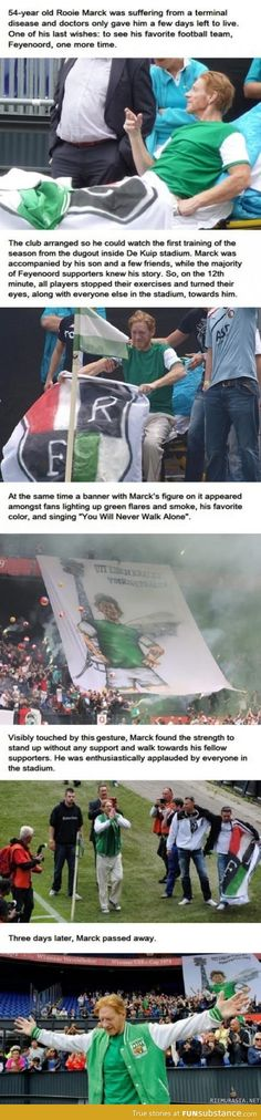 Faith in humanity restored! Beautifully done by the sports team