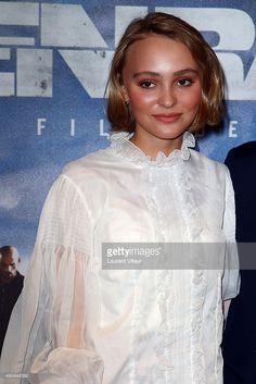 Lily-Rose Depp and her Aunt Alysson Paradis attend the 'Enrages' Premiere at UGC Cine Cite des Halles on September 28, 2015 in Paris, France.