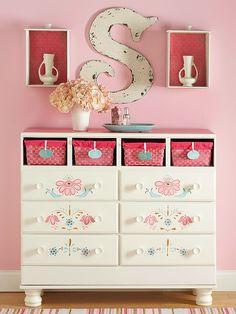 old furniture cute idea!