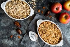Lactose Free Butter, Oat Flour, Rolled Oats, Large Bowl, Baking Pans, Cooking Time, Brown Sugar, Cereal, Almond