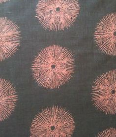 kelly wearstler sea urchin printed linen  Cover my Wing Backs in this:)