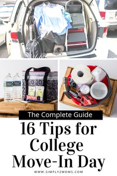 Learn what to expect on college move-in day from two moms who've been there! Learn what to expect on college move-in day from two moms who've been there! We share tips College Dorm List, College Dorm Checklist, College Dorm Organization, College Dorm Essentials, College Gifts, College Dorm Rooms, College Board, College Humor, Boy Dorm Rooms