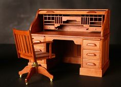 Woodworker Joe Hanf fascinated by miniature furniture: Home Hobbyist (gallery) | cleveland.com