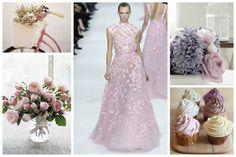 Purple and Pink  Weddings Inspiration Board