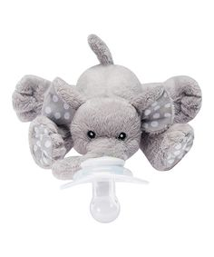 Look at this Nookums Ella Elephant Paci-Plushies Buddies Pacifier Holder on #zulily today!
