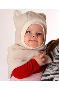 Флисовая шапочка Плюшевый мишка- Fantinos