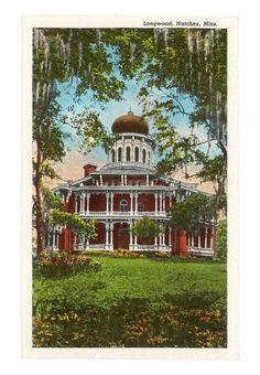 Longwood Plantation, Natchez, MS