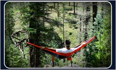 **WINNER: Elena D. **  One winner gets to kick it in a hammock from Eagles Nest Outfitters Inc. - Hammocks and Hammock Sleeping Systems - Rain, Cold and Insect Protection.
