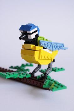 LEGO Blue Tit bird