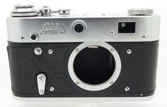 ☑ Fed-3 Rangefinder ☭ Soviet 35mm Camera Type B Ussr Russian Leica Ltm M39 Body