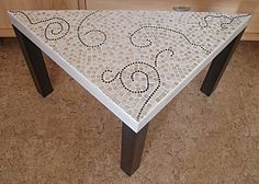 MOSAIQUE - TABLE TRIANGULAIRE