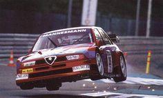 Alfa Romeo 155 DTM voando