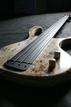 This ! Banjo, Bass Ukulele, Bass Guitars, Custom Bass Guitar, Custom Electric Guitars, Custom Guitars, I Love Bass, Double Bass, Guitar Building