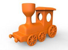 Train Toy 3D Printing