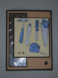 Father's Day Tool Card