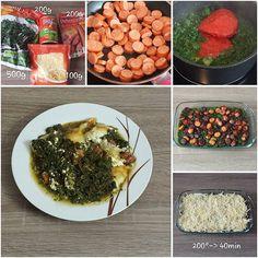 """Gefällt 0 Mal, 1 Kommentare - step by step cooking (@spoonfulofcooking) auf Instagram: """"#Grünkohl- #Auflauf . #Emmentaler #Käse #Debreziner #Wurst #Tomatensauce #cheese #cale #sausage…"""""""