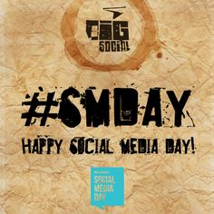 We're super excited to be celebrating Mashable's 5th Social Media Day with you all! Stay tuned for some very interesting social facts to come! #SMDay