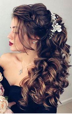 Cool summer fashion hairstyle