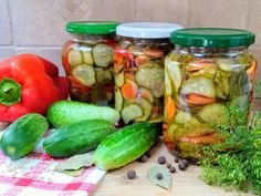 SAŁATKA SZWEDZKA Pickles, Cucumber, Food, Meal, Pickle, Hoods, Eten, Pickling, Meals