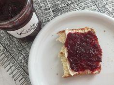Kirschmarmelade für #let's bake together von Tastesheriff. So lecker, so gut
