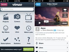 Vimeo App For iOS Receives Major Update, Full Support For iPad, Brand New UI And More