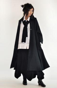 the Hepburn Coat by Kaliyana.  I love this - like the shirt, too.