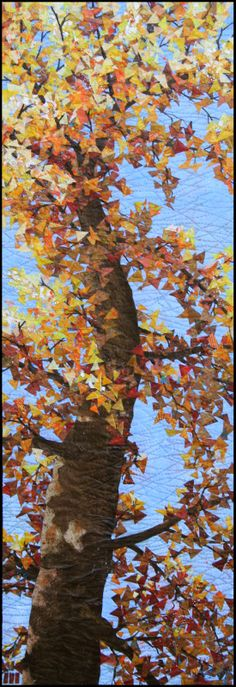Gingko by Denise Oyama Miller. Exhibited at Olive Hyde Art Gallery in Fremont, California