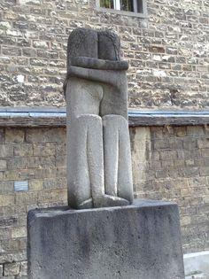 Montparnasse - Brancusi's kiss