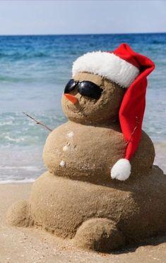 Mr. Sandman sing me a dream...make it a beautiful beach for the holidays!!