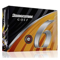 Bridgestone 2011 e6 Golf Ball - Orange by Bridgestone. Save 73 Off!. $21.99. Straight Distance. Are you spending too much time in the woods looking for errant shots? Take advantage of the new e6, the softest multi-layer golf ball on the market, providing significant side spin reduction to minimize slice or hook spin, helping you hit the ball straighter and longer. New Dual Dimple Technology also provides improved distance performance. The inside dimple works to increase thrust power at…