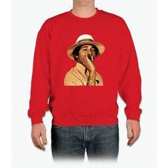 young obama smoke classic Crewneck Sweatshirt