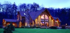 Waterford - Log Homes, Cabins and Log Home Floor Plans - Wisconsin Log Homes