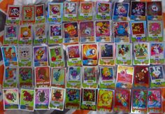 Moshi Monsters Mash up Holographic and Shiny Mirror cards 50  | eBay