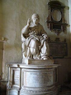 * Papa Leão X * Igreja de Santa Maria, em AraCoeli. Roma.