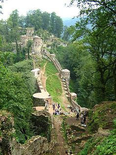 Rudkhan Castle, Iran.......I would love to see Iran, Iraq, Syria and Lebanon some day....the Middle East is my absolute favorite place to travel.