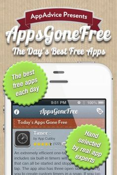 Apps Gone Free provides with you a list of the day's best paid applications that are being offered for free. The list includes authored, handpicked recommendations from an AppAdvice.com expert of apps. (we use this every day!)