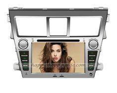 Android DVD Player for Toyota Yaris Sedan GPS Navigation Wifi 3G