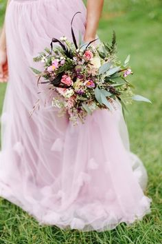 Autumn wedding inspiration with a hint of lilac   Photo by Jenna Henderson   Read more - http://www.100layercake.com/blog/?p=81230