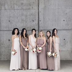 abulaeBridal party goals 🙌🏼 We love the trend of mismatched bridesmaid dresses! Briana let her 'maids choose their own gowns and it turned out absolutely flawless. // Photography: @cadenceandeli abulae#abulae #weddingvenue #mnwedding #weddings #beautiful #instalike #photography #minneapolis #stpaul #bridesmaiddresses #bridesmaids #patternmixing