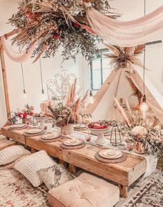 Party table decorations – Summer table decorations – Table decorations – Indoor picnic – Boho p – Party Decorations 2020 Summer Table Decorations, Wedding Decorations, Party Decoration, Boho Wedding, Wedding Table, Wedding Black, Wedding Dinner, Luxury Wedding, Wedding Reception
