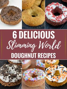 Slimming Eats - 6 Delicious Slimming World Doughnut Recipes, you just have to try. astuce recette minceur girl world world recipes world snacks Slimming World Treats, Slimming Eats, Slimming World Recipes, Beer Recipes, Donut Recipes, Dessert Recipes, Recipies, Desserts, Rezepte