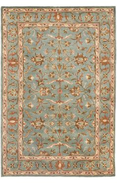 Safavieh Heritage HG969A Blue Rug | Traditional Rugs