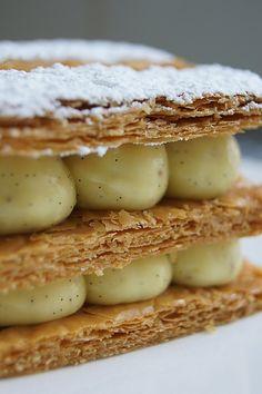 Vanilla mille-feuilles by Jacques Génin !