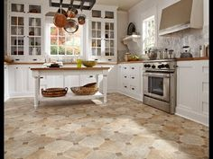 Designer Lynn Kegan shares his thoughts about designing with tile look flooring | IVC US Floors #IVC #LynnKegan
