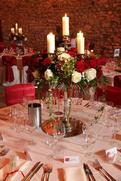 Flower Design Events: Candelabra