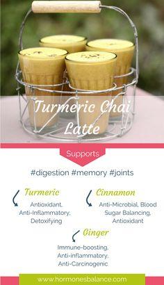 Tasty Turmeric Chai Dairy Free Latte Drink Recipe