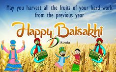 #Hope this season brings endless joy and happy moments for all of you. Dikonia Team wishes you a very #Happy #Baisakhi.